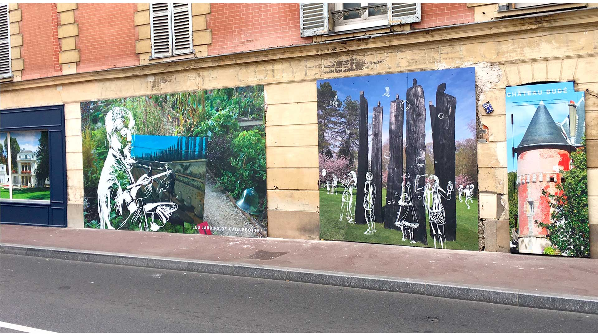 Décor mural extérieur