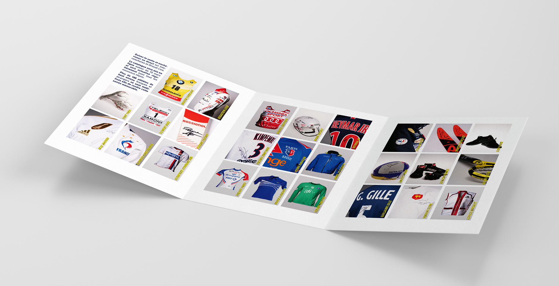 Brochure sport design